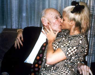 Anna Nicole Smith e o Beta dela