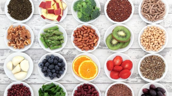 alimentos naturais vitaminas minerais
