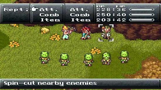 chrono trigger enfrenta goblins