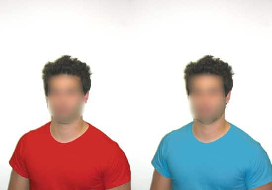 camisa-vermelha-camisa-azul
