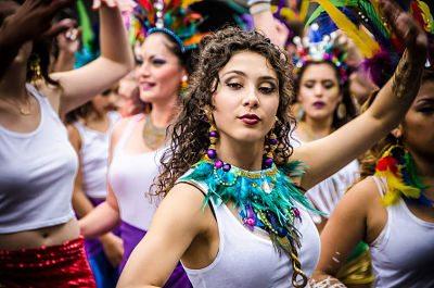mulher bonita carnaval
