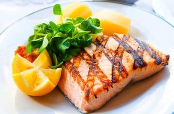 salmão grelhado gostoso
